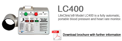 LifeClinic 400 Blood Pressure Monitor